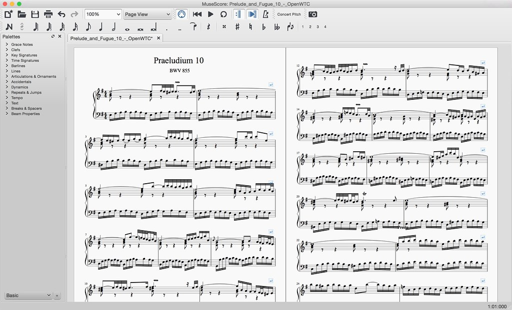 Piano score, full screen | MuseScore | Flickr