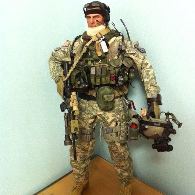 heavy man!!!! D-boy #ARMY#Delta Force#military#coustom fig… | Flickr