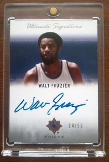 2007-08 Ultimate Collection Signatures #WF Walt Frazier /50 | by milkowski.pawel