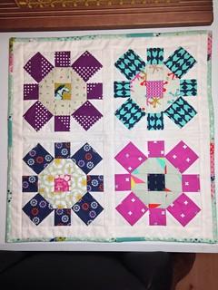 Cotton & Steel mini quilt for @joyinthestitches