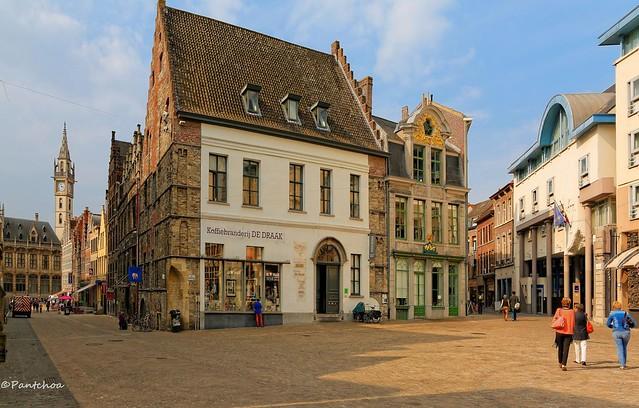 Gent : Goudenleeuwplein