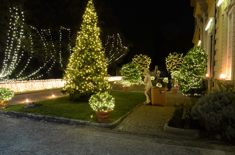 Luminarie natalizie mixar allestimenti audio luci gazebo palchi