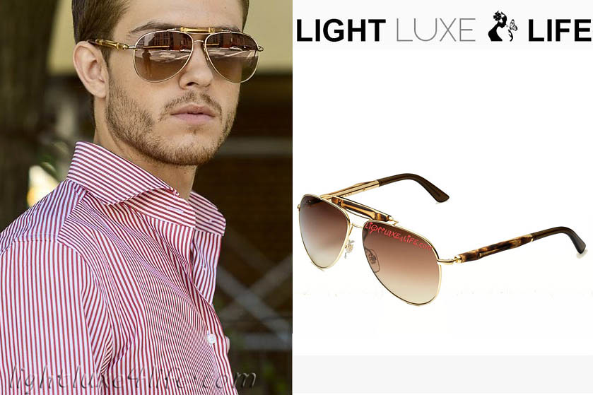 73335449444 ... gucci bamboo aviator mens sunglasses- lightluxe4life.com