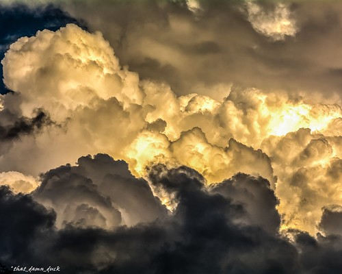 storm sunset sundown nature