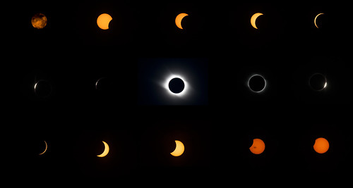 Total Eclipse Sequence