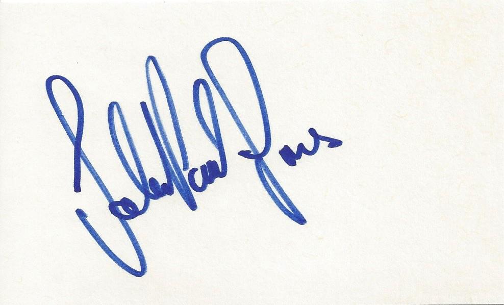 Autographed John Paul Jones 3x5 Card | Joe Merchant | Flickr