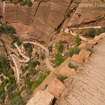 Coming down from Angels Landing