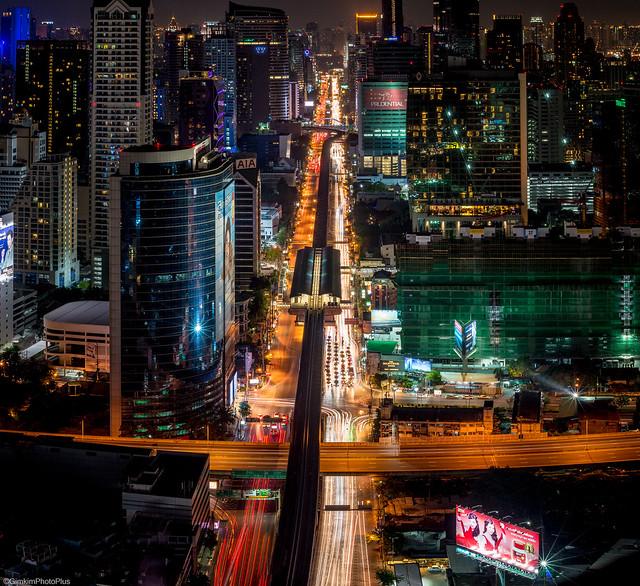 Sathon-Bangkok Night