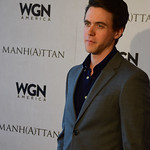 "Ashley Zukerman at WGNAmerica's ""Manhattan"" Emmy's For Your Consideration Event - DSC_0316"