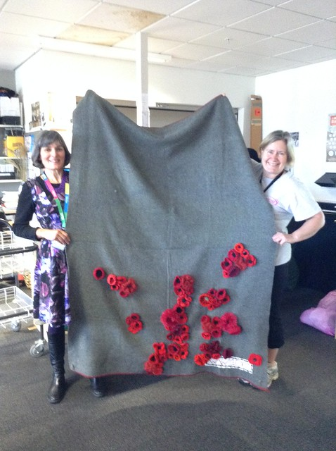 The first poppies - Christchurch City Libraries