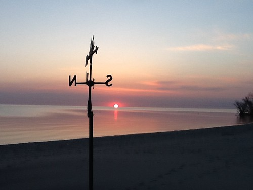 beach weathervane
