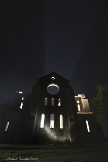 San Galgano di Notte......