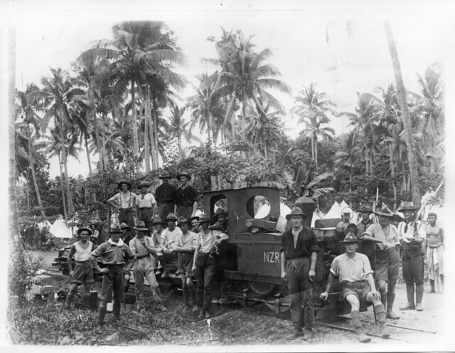 New Zealand troops in Samoa, c.1914-15 - Archives New Zealand Te Rua Mahara o te Kāwanatanga
