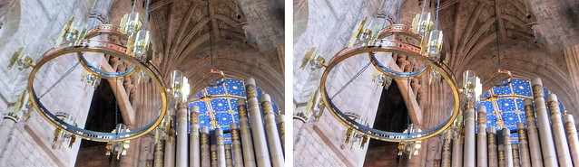 3D Carlisle Cathedral Chandelier