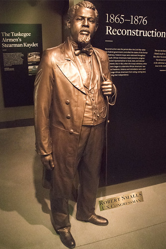 Statue of 'Robert Smalls, U.S. Congressman' -- The National Museum of African American History and Culture (NMAAHC) Washington (DC) October 2016 | by Ron Cogswell