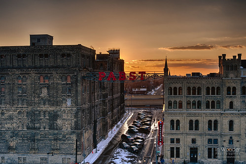 sunset urban wisconsin brewing landscape nikon cityscape decay company brewery milwaukee pabst markadsit