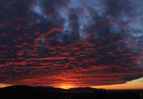 winter sunset usa mountain colors us bestof outdoor bellingham wa washingtonstate redskyatnight alabamahill dexhorton