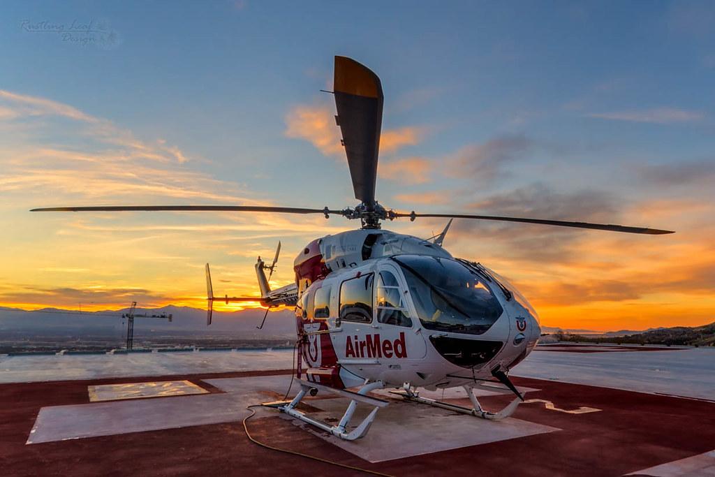 University of Utah Health Care AirMed | Scott Stringham | Flickr