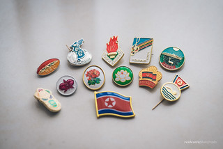 Lapel pins from North Korea | by reubenteo