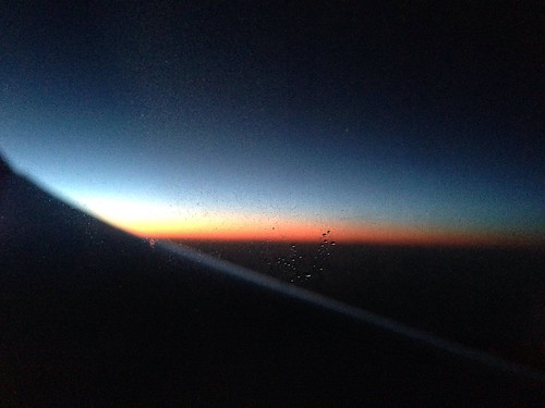 79/365 Sunset on a plane   by Anetq