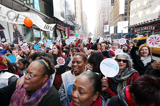International Women's Day 2015- Stepping it up on the streets of New York City | by UN Women Gallery