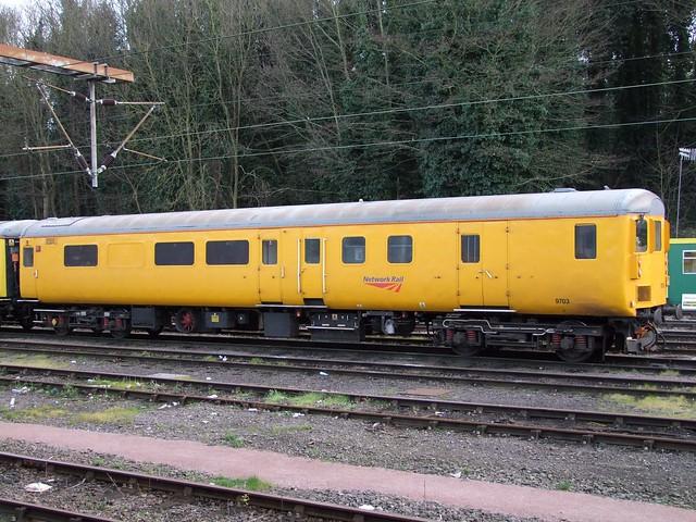 Network Rail DBSO 9703 at Ipswich, 27-02-15