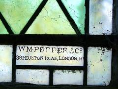 W  M Pepper & Co 381 Euston Road, London NW1