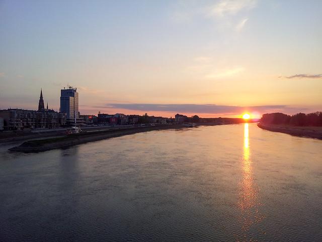 Osijek sunset