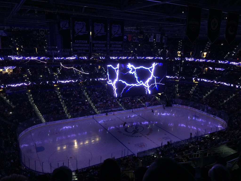 Tampa Bay Lightning Preshow Mrs Gemstone Flickr