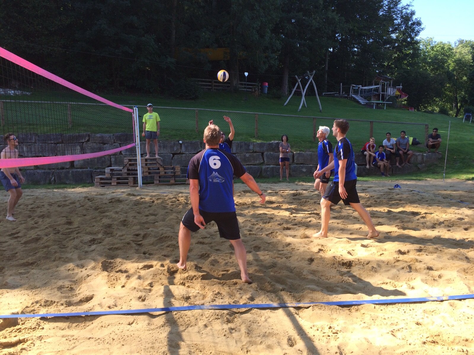 Beach-Volleyballturnier Niederweningen 2015