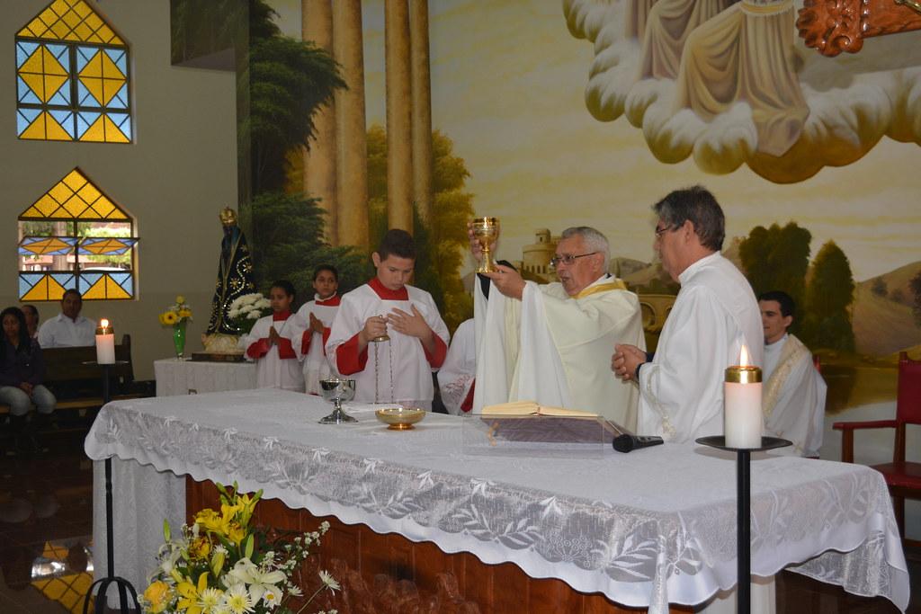 50 anos de vida religiosa do Pe. Nelo