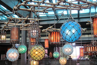 Rattan lanterns and floats at the Great Ceremonial House | by The Tiki Chick