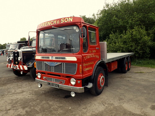 classic truck french t scotland cab super motors lorry wheeler preserved six contractor albion sons dumfries flatbed ayrshire reiver haulage hgv scotstoun cumnock ergomatic sureasthesunrise lsd180g