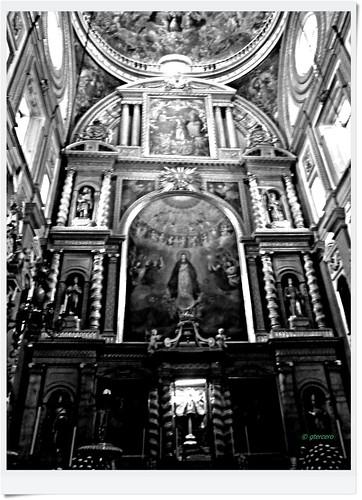 Altar principal, Catedral de Puebla, México. P1120490EPByN