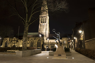 Leicester Cathedral at Night | by John__Hull