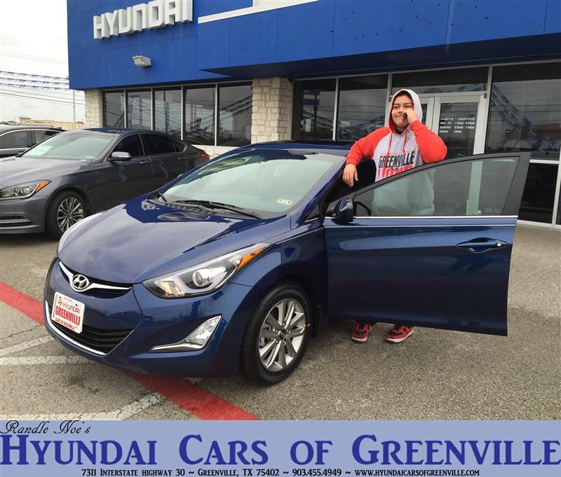 Hyundai Greenville Sc: Congratulations To Josie Perez On Your #Hyundai #Elantra P