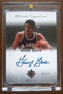 2007-08 Ultimate Collection Signatures #GG George Gervin /50 | by milkowski.pawel