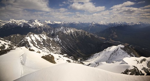 park blue winter sky panorama sun mountain snow canada mountains clouds forest river landscape rockies climb spring rocks view cloudy rocky peak sunny panoramic canadian hike mount national alberta valley bow summit banff cascade cory slope assiniboine scramble cornice ascend rundle