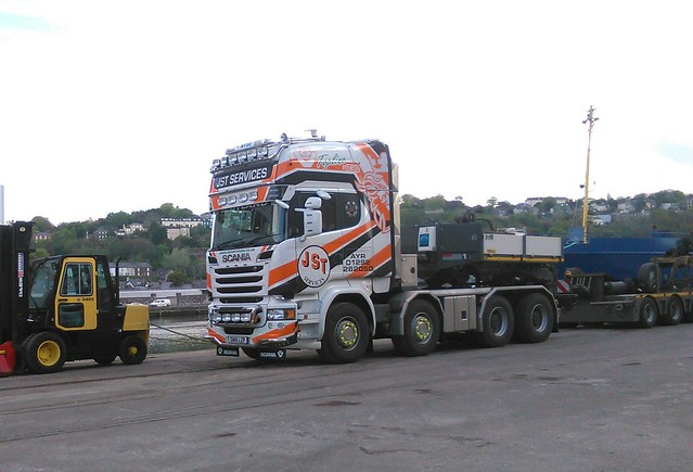 JST Services Scania R730 V8