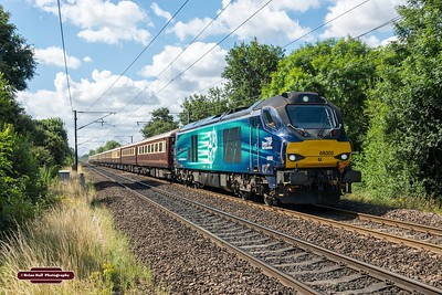 68005 T&T 68022 ,1Z66 0817 LONDON KINGS CROSS - 1442 EDINBURGH ,The Edinburgh Tattoo And The Northern Belle Day 1 , Arksey ,6-8-2016