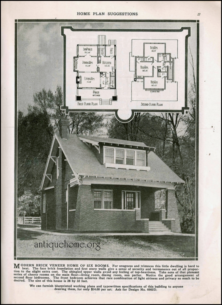 on radord antique home plans