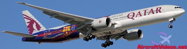 Qatar Airways 777-3DZ/ER [A7-BAE]
