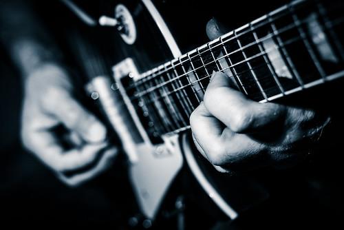 Guitar player   by Joerg Schreier
