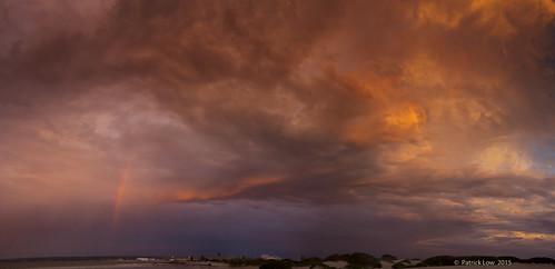 sunset panorama rainbow australia westernaustralia geraldton canon5dmkii northernwanderer patricklow