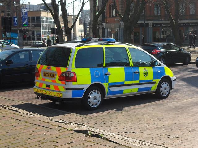Mersey Tunnels Police Ford Galaxy (DK06 WDE)