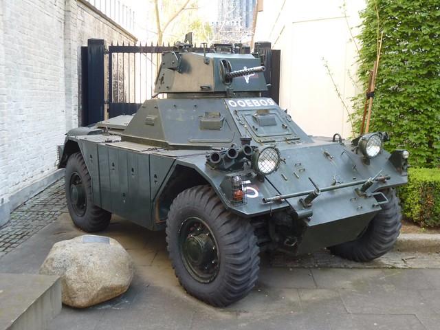 Ferret Armoured Vehicle