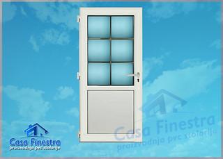 Casa Finestra Karolaj jednokrilna vrata sa 3D sarkom | by casafinestra