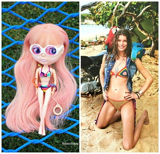 The new IT bikini is crochet and colorful