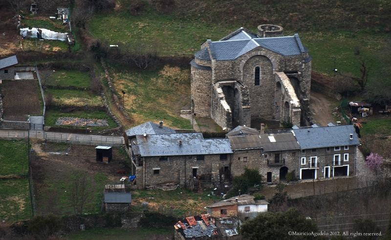 Iglesia Romanica Sant Serni De Tavernoles Anserall Lleida Flickr