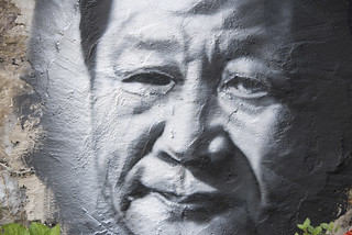 Xi Jinping, painted portrait _DDC2231   by Abode of Chaos